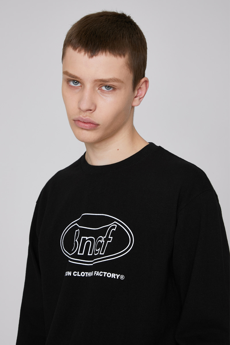 BLKN CIRCLE LOGO T-SHIRTS (BLACK)