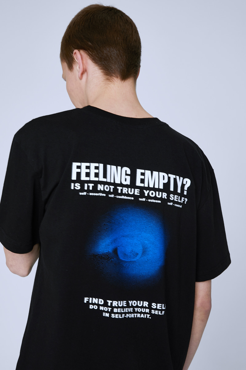 FEELING EMPTY T-SHIRTS (BLACK)