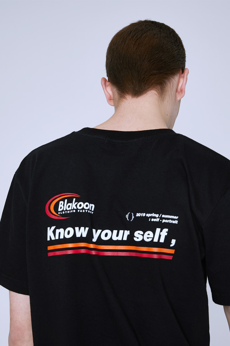 KNOW YOUR SELF T-SHIRTS (BLACK)