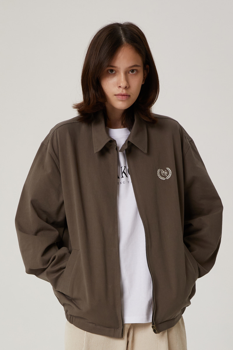 BNCF COTTON JACKET (BROWN)