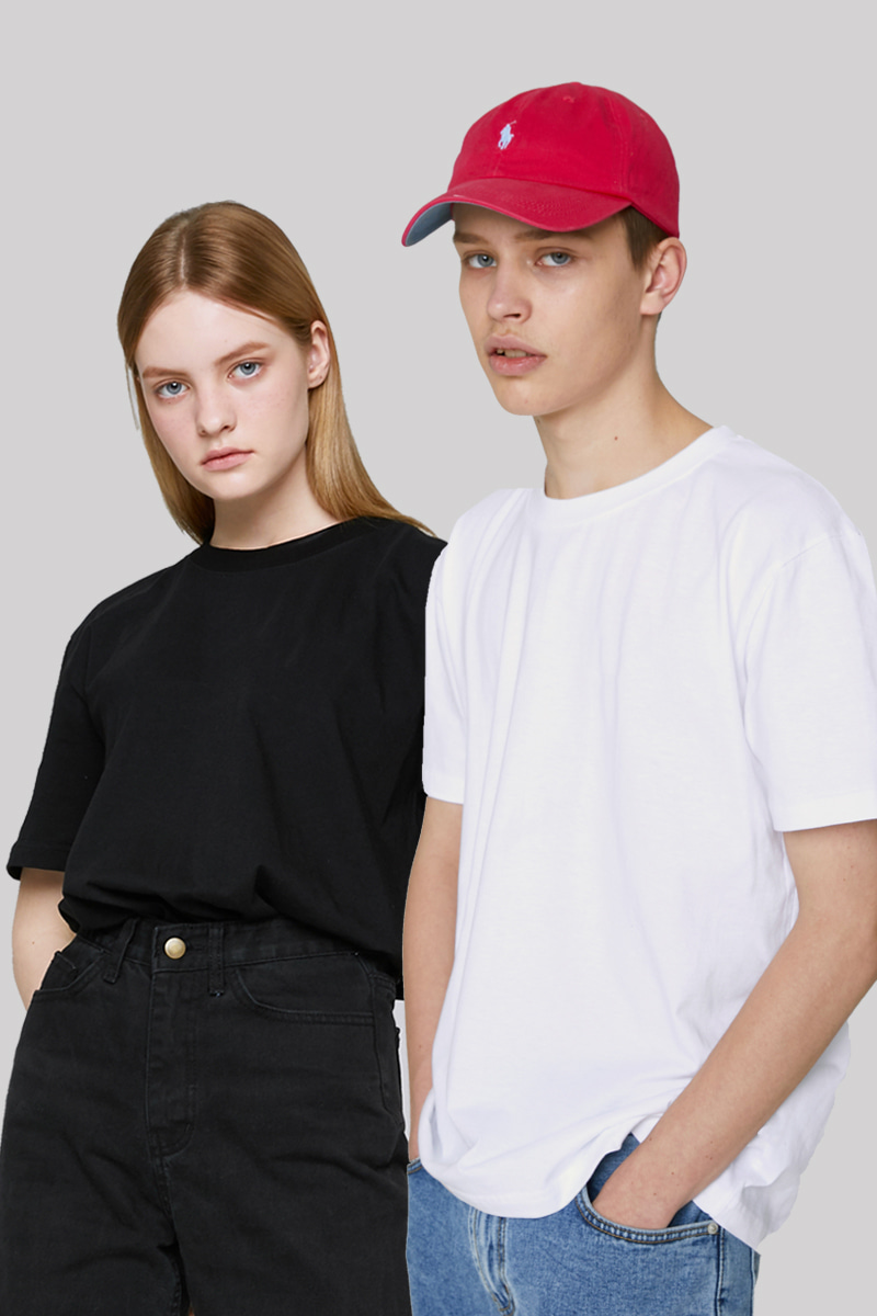 WHOLE GARMENT BASIC T-SHIRTS