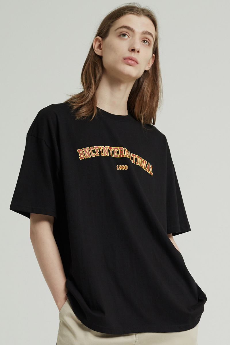 BNCF INTERNATIONAL T-SHIRTS (BLACK)