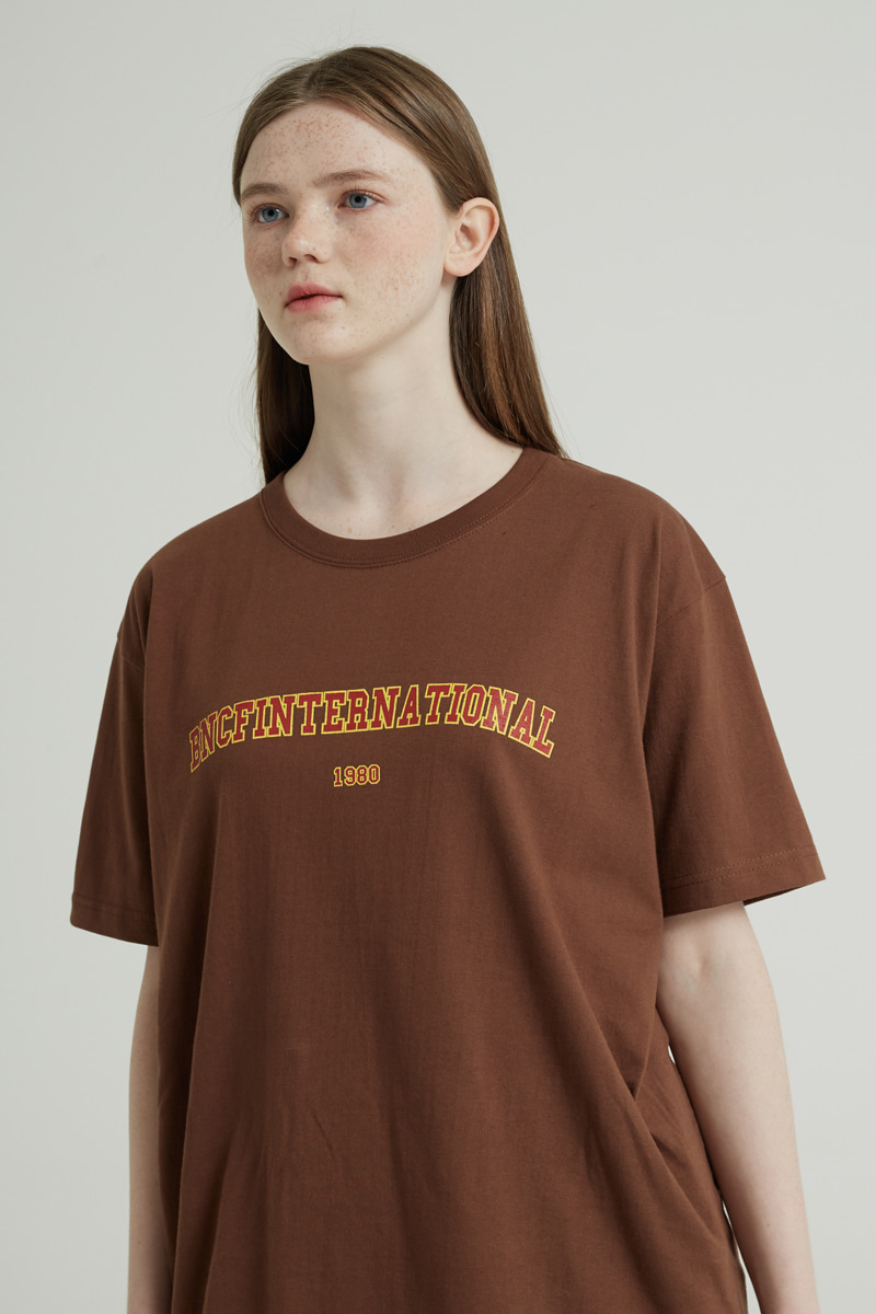 BNCF INTERNATIONAL T-SHIRTS (BROWN)