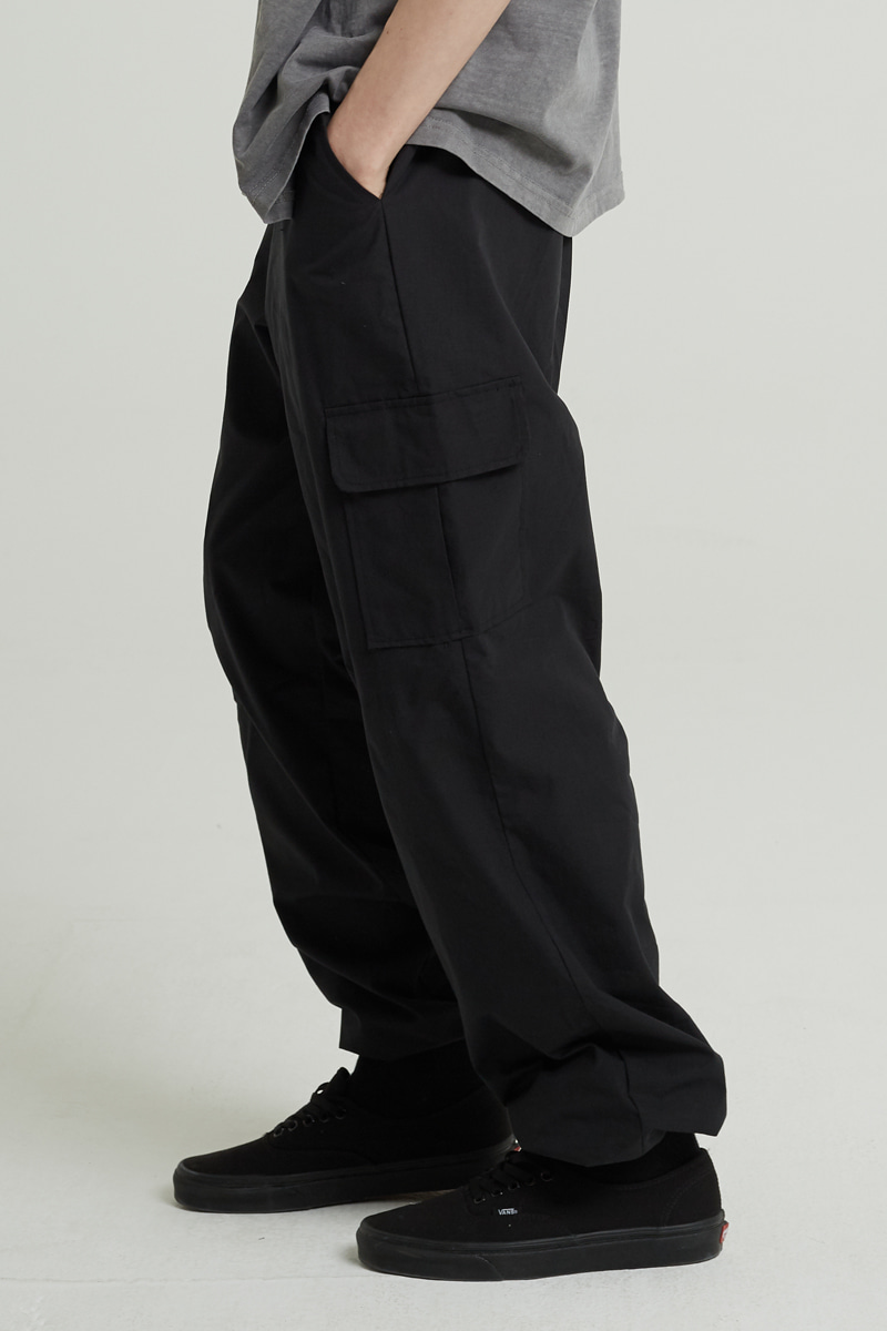 CARGO STRING WIDE PANTS