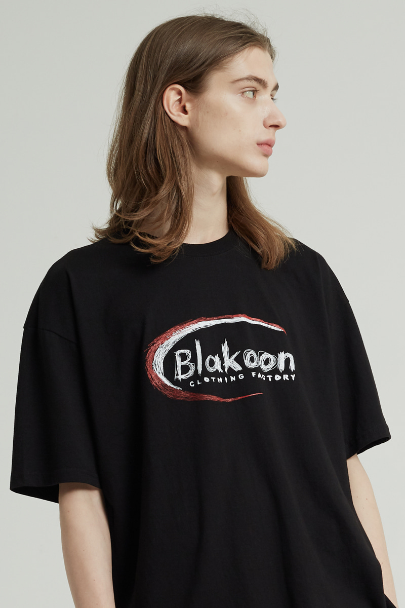 CRAYON SIGNATURE LOGO T-SHIRTS (BLACK)