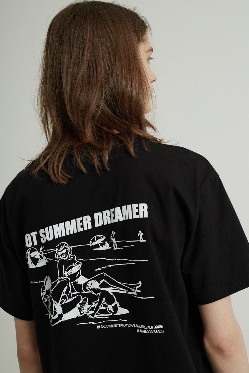 HOT SUMMER T-SHIRTS (BLACK)