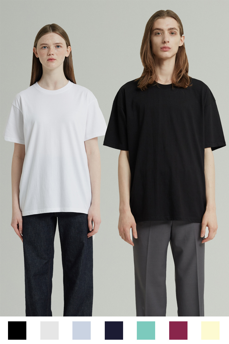 WHOLE GARMENT HALF T-SHIRTS