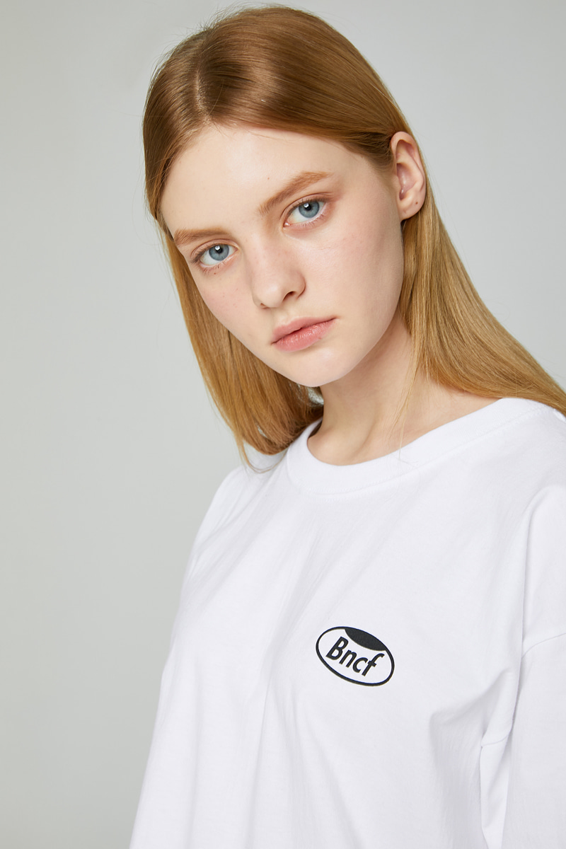WHOLE GARMENT SMALL LOGO  T-SHIRTS (WHITE)