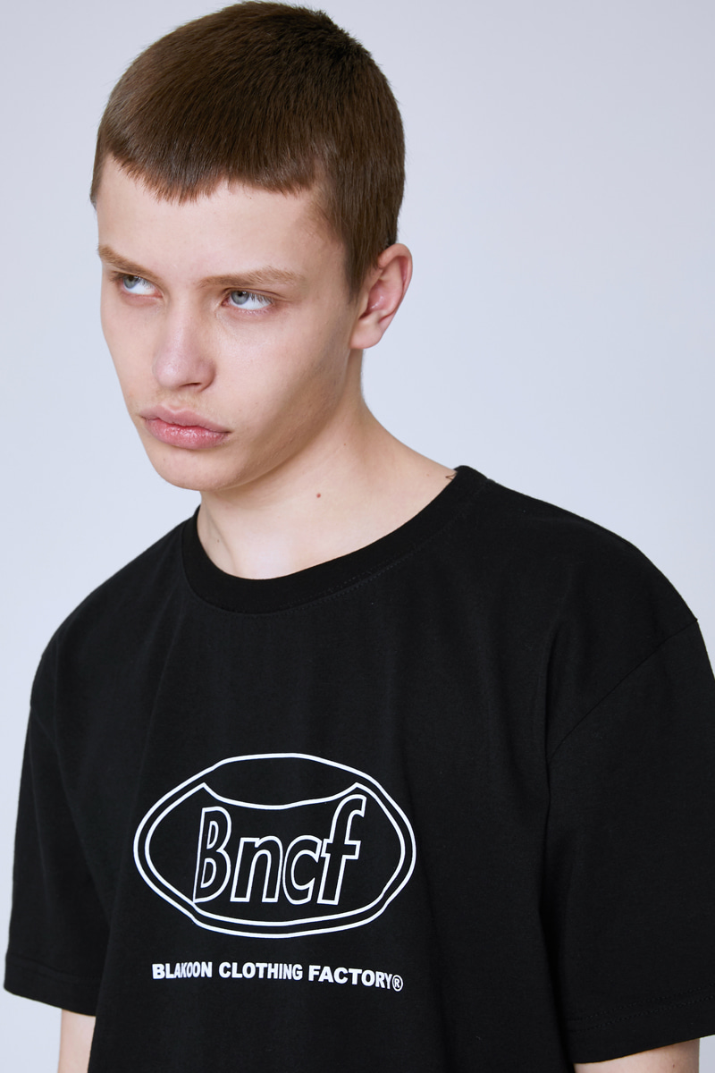 BNCF CIRCLE LOGO T-SHIRTS (BLACK)