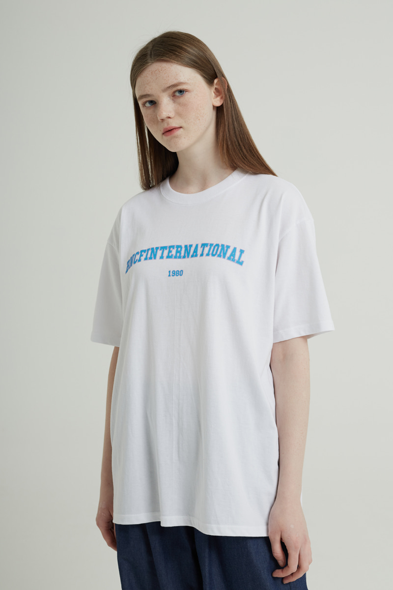 BNCF INTERNATIONAL T-SHIRTS (WHITE)