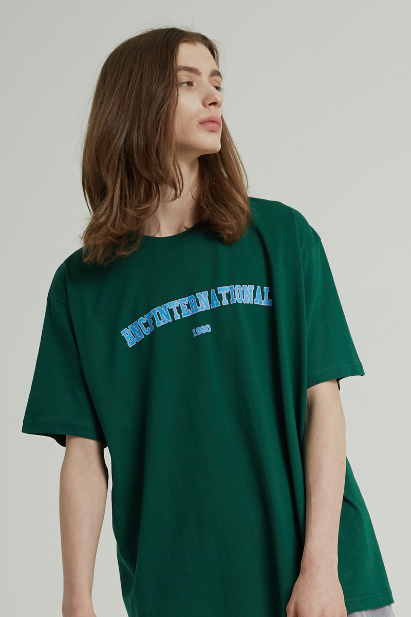 BNCF INTERNATIONAL T-SHIRTS (DEEP-GREEN)
